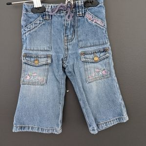 Guess baby light wash blue jeans